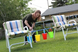 Autism Outdoor Activity - Pour and Match Water Color