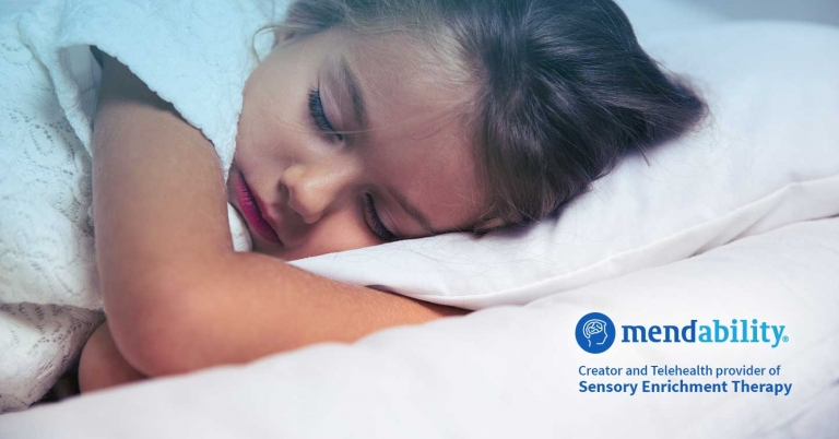 Child Special Needs Can't Sleep Sensory Enrichment Therapy