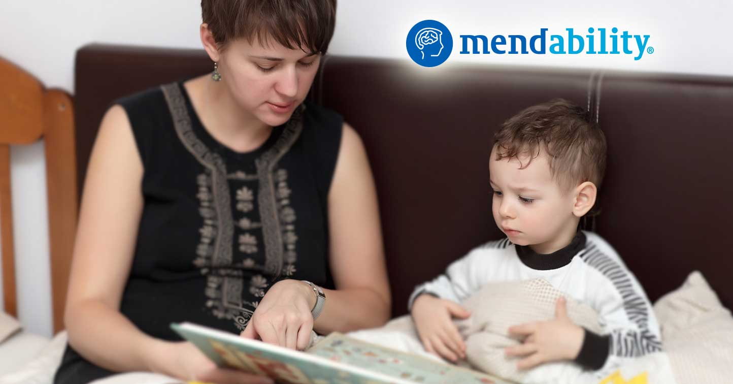Read to nonverbal autistic helps speech development