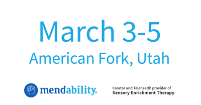 Sensory Enrichment Therapy Certification – March 3-5 – American Fork, UT